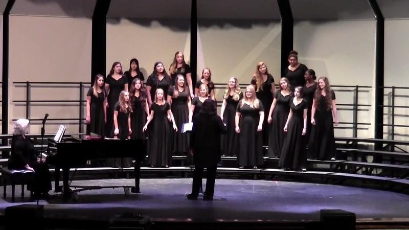 "College Station HS Varsity Women's Choir - ""Juego a que me quemo"" 10/24/2017"