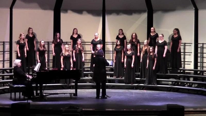 """College Station HS JV Women's Choir - """"Ich Wollt' Meine Lieb'"""" 10/24/2017"""