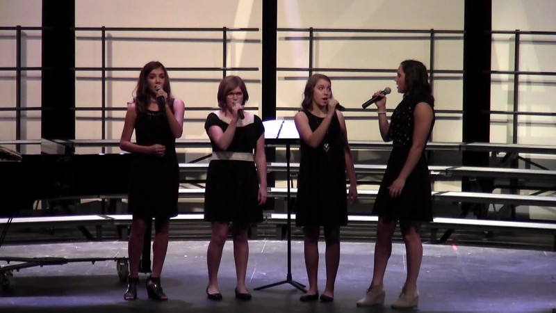 """College Station HS Vocal Ensemble - """"Tears in Heaven"""" 10/24/2017"""