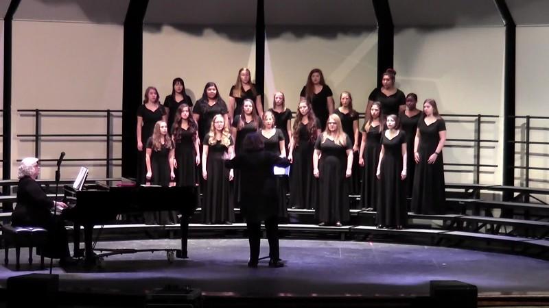 "College Station HS Varsity Women's Choir - ""Liebe"" 10/24/2017"