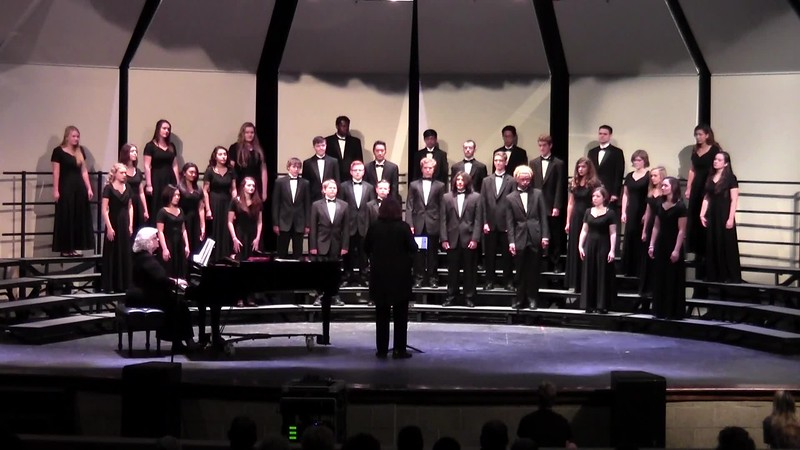 """College Station HS Chorale - """"Gloria"""" from Heiligmesse 10/24/2017"""