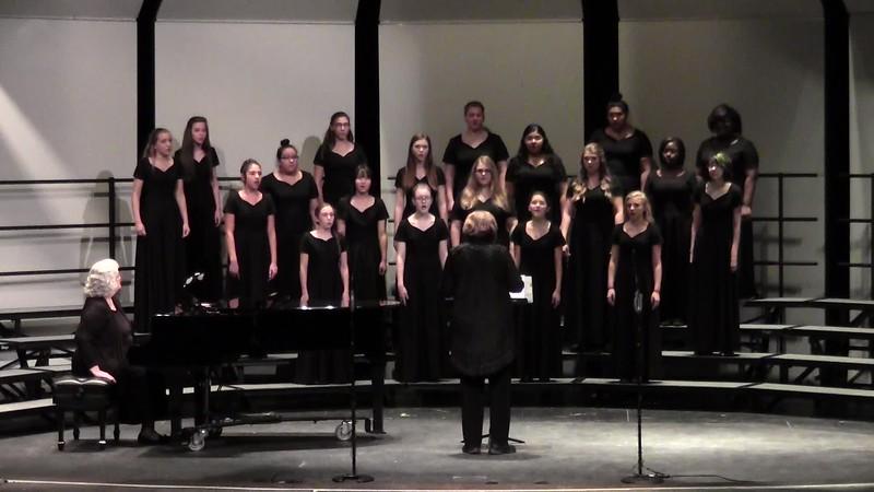"""Amani"" - College Station HS JV Women's Choir 10/25/2016"