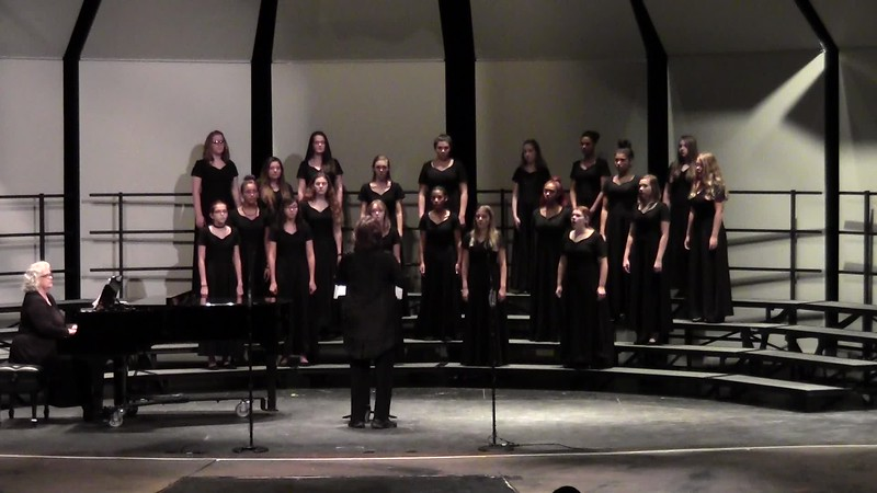 """Al Shlosha D'Varim"" - College Station HS Concert Women's Choir 10/25/2016"