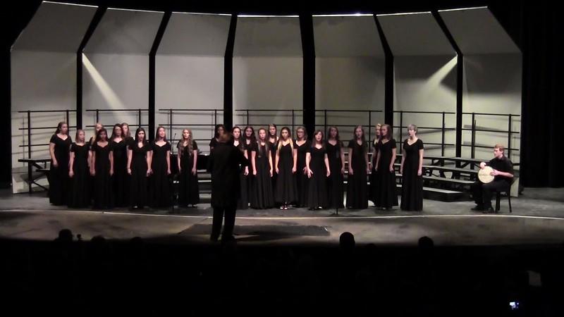 """Jabula Jesu"" - College Station HS Varsity Women's Choir 10/25/2016"