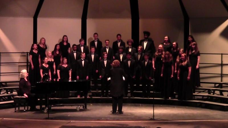 """""""Tanzen Und Springen"""" - College Station HS Chorale 10/25/2016"""