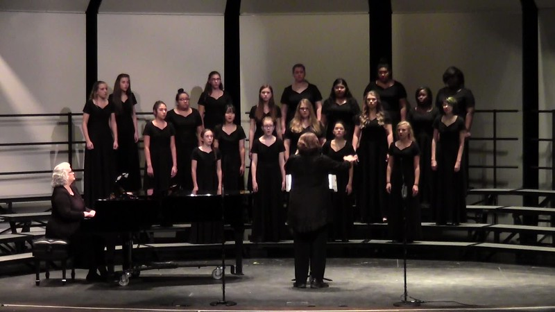 """My True Love Has My Heart"" - College Station HS JV Women's Choir 10/25/2016"