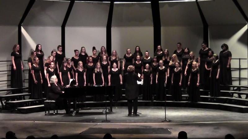 """Skye Boat Song"" - College Station HS Concert & JV Women's Choir 10/25/2016"