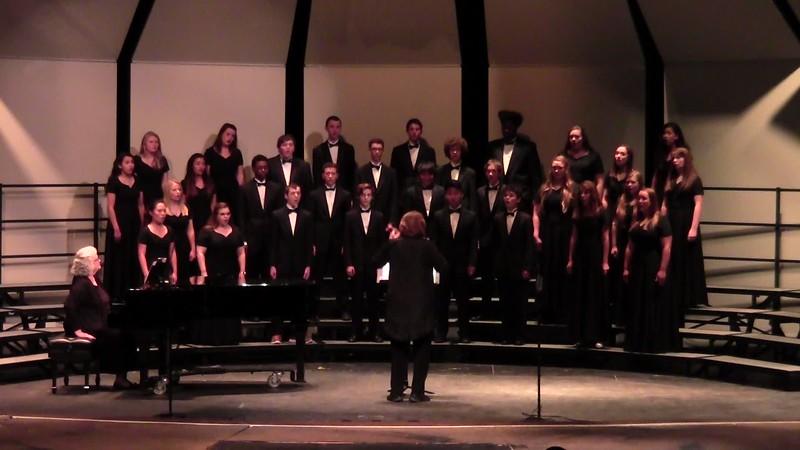 """Bonzorno Madonna"" - College Station HS Chorale 10/25/2016"