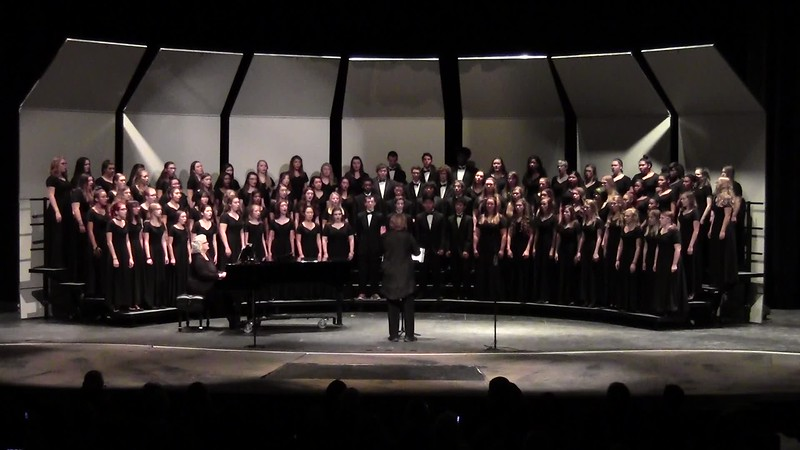 """Blessing"" - College Station HS Choirs 10/25/2016"