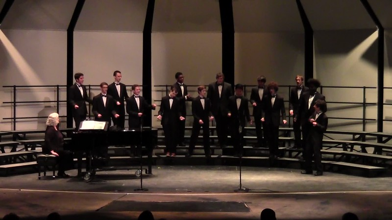 """Tshotsholoza"" - College Station HS Chorale Men 10/25/2016"