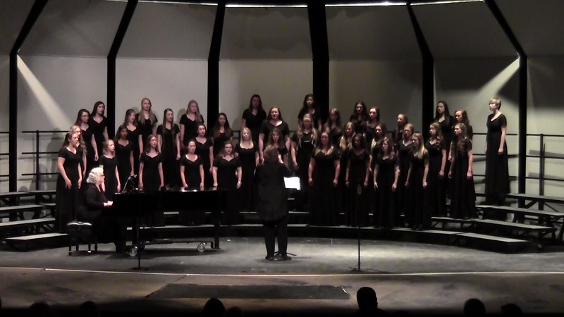 """Dôme Épais"" from Lakme - College Station HS Chorale and Varsity Women's Choir 10/25/2016"