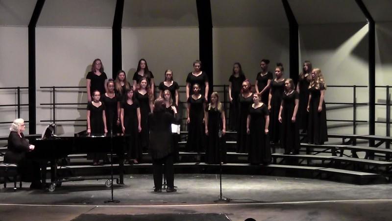 """Jubilate Deo"" - College Station HS Concert Women's Choir 10/25/2016"