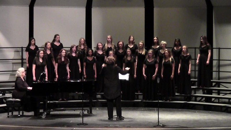 """Lux Aeterna"" from Missa - College Station HS Varsity Women's Choir 10/25/2016"