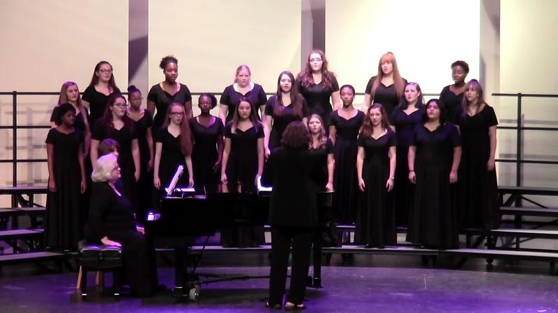"""Bonny Wood Green"" - College Station HS Junior Varsity Choir 10/25/2018"