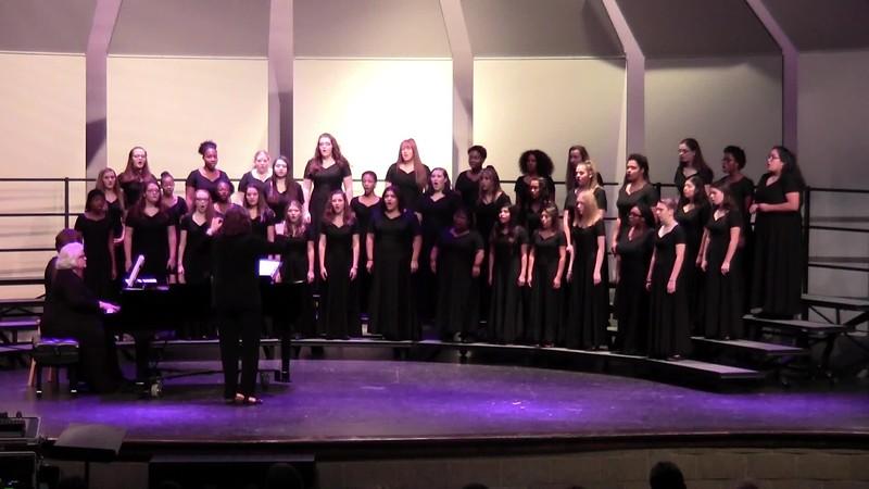 """Gerakina"" - College Station HS Concert & Junior Varsity Choirs 10/25/2018"