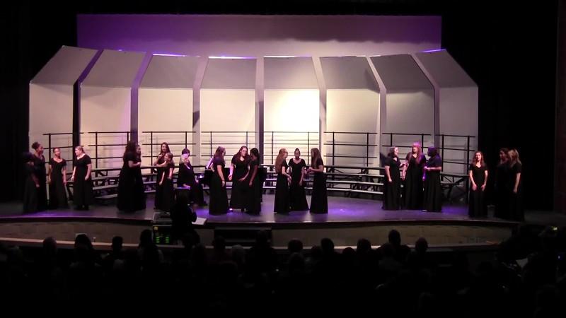 """""""Je Le Vous Dirai!"""" - College Station HS Junior Varsity Choir 10/25/2018"""
