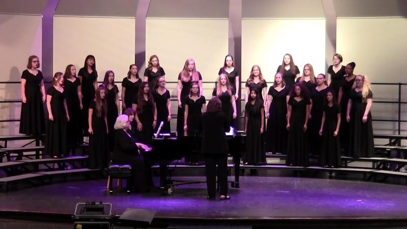 """""""Ah! Si Mon Moine Voulait Danser!"""" - College Station HS Varsity Choir 10/25/2018"""
