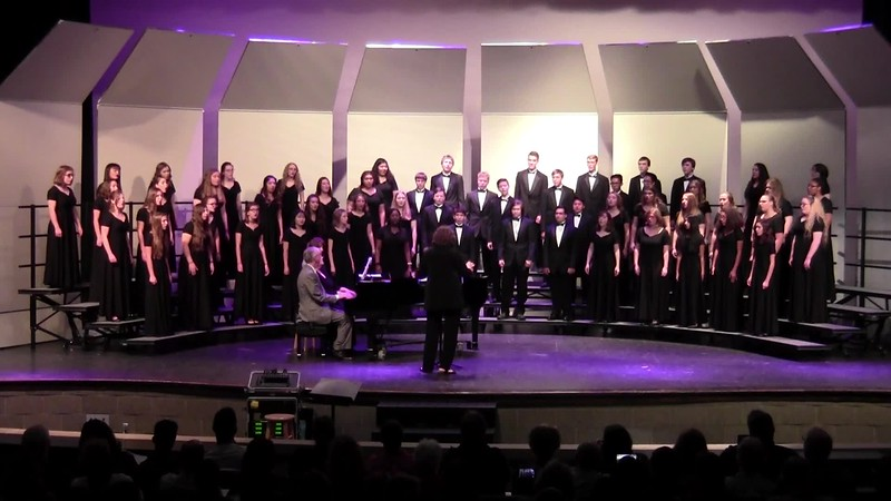 """The Rhythm of Life"" from Sweet Charity - College Station HS Varsity & Chorale Choir 10/25/2018"