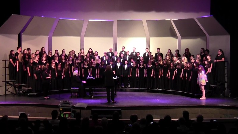 """Blessing"" - College Station HS Choirs 10/25/2018"