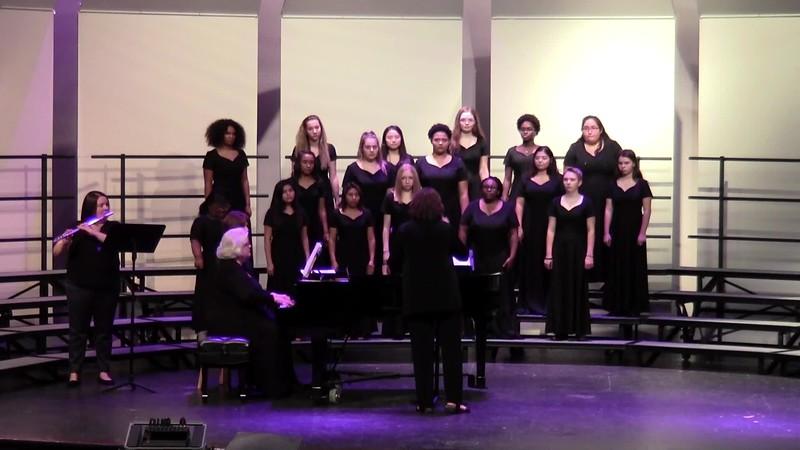 """""""Mendelssohn's Prayer for Peace"""" - College Station HS Concert Choir 10/25/2018"""