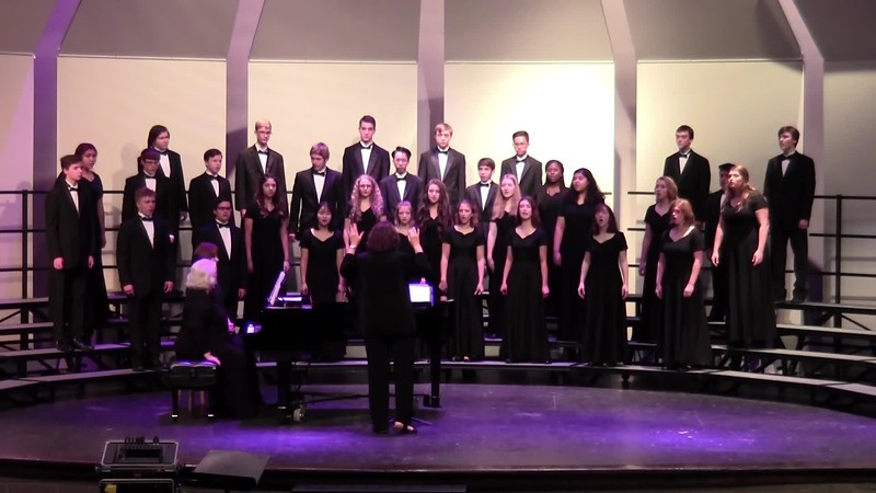 """All Creatures Now"" - College Station HS Chorale 10/25/2018"