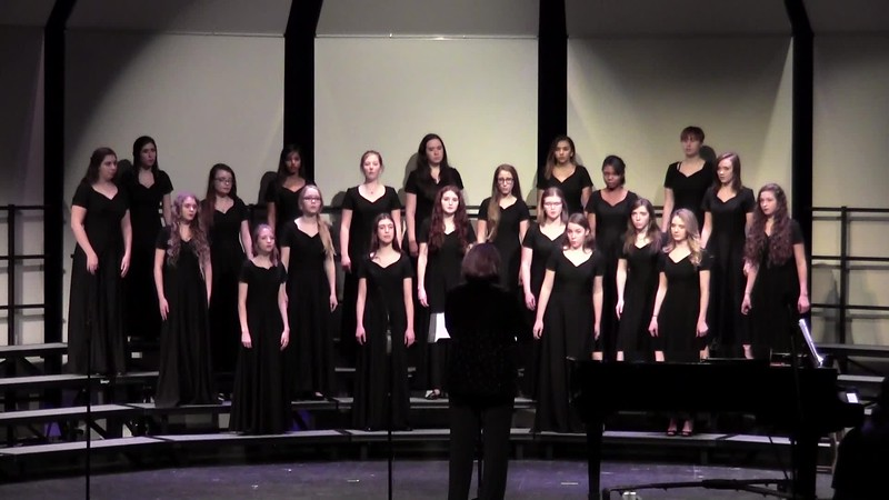 """Bright Mansions"" - College Station HS Varsity Women's Choir 02/03/2017"