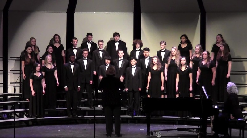 """Don't You Let Nobody Turn You 'Round"" - College Station HS Chorale 02/03/2017"