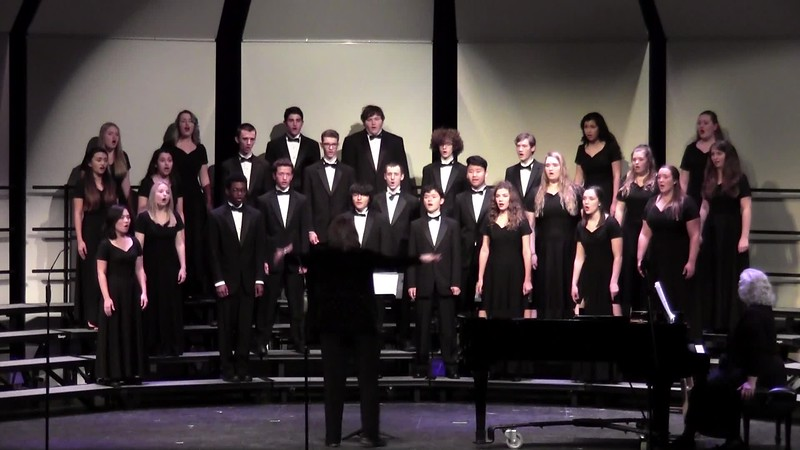 """Hark I Hear the Harps Eternal"" - College Station HS Chorale 02/03/2017"