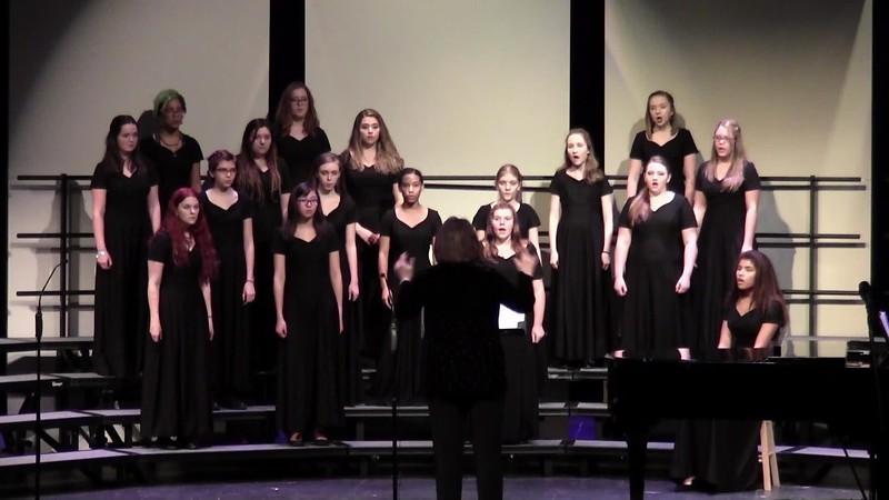 """Ev'ry Time I Feel the Spirit"" - College Station HS Concert Women's Choir 02/03/2017"