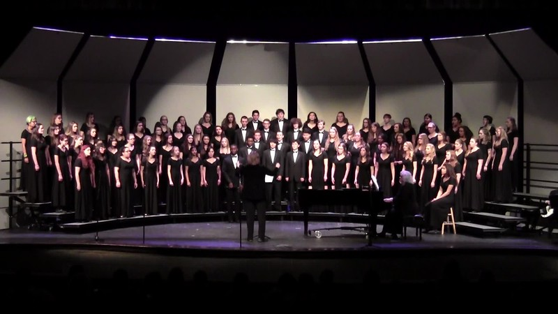 """Total Praise"" - College Station HS Choirs 02/03/2017"