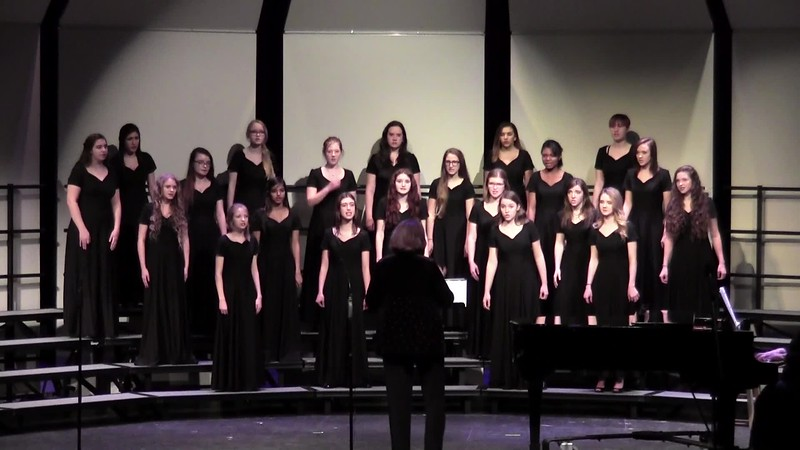 """Witness"" - College Station HS Varsity Women's Choir 02/03/2017"