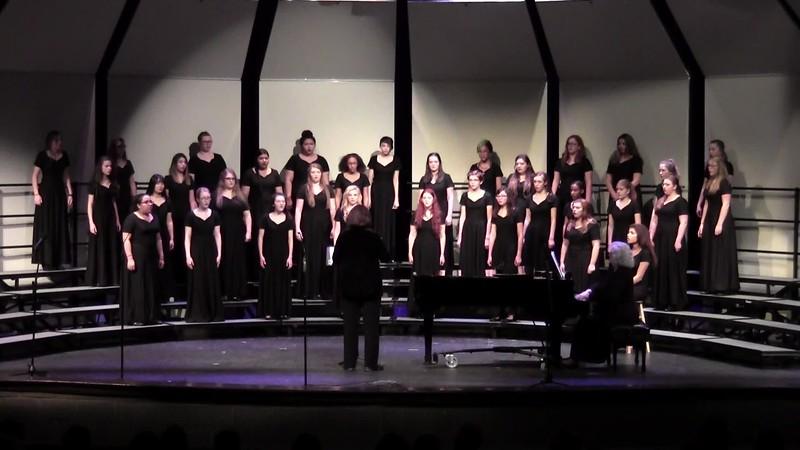"""""""Deep River"""" - College Station HS Concert & JV Women's Choir 02/03/2017"""
