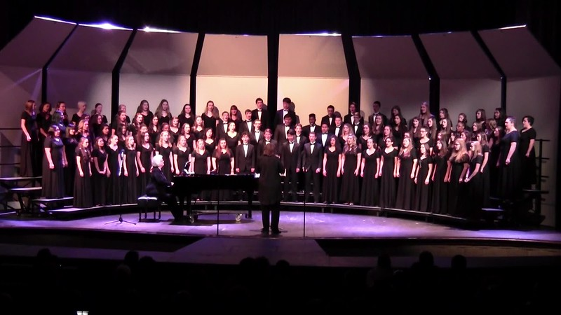 """Total Praise"" - College Station HS Choirs 02/09/2016"