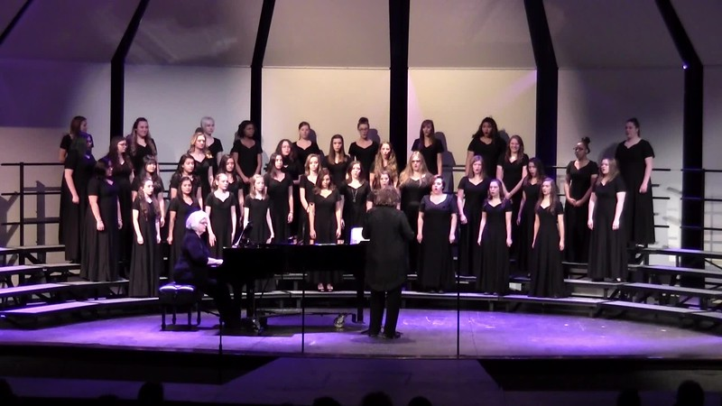 """I'm Goin' Up a Yonder"" - College Station HS Concert & JV Women's Choir 02/09/2016"