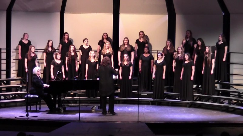 """This is the Day"" - College Station HS Varsity Women's Choir 02/09/2016"