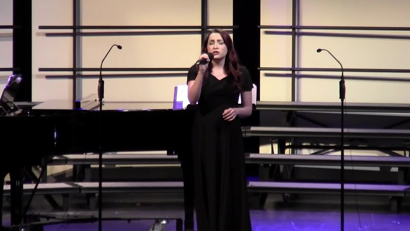 """Wade in the Water"" - College Station HS Choir Soloist 02/09/2016"