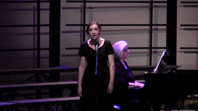 """Sometimes I Feel Like a Motherless Child"" - College Station HS Choir Soloist 02/09/2016"