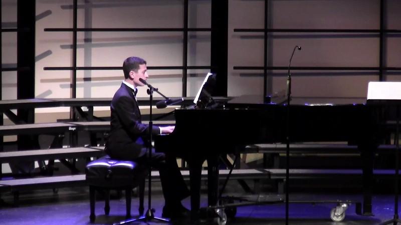 """I Am a Poor Wayfaring Stranger"" - College Station HS Choir Soloist 02/09/2016"