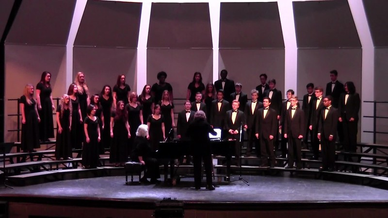 "College Station HS Chorale - ""My Spirit Looks to God Alone"" 02/09/2018"
