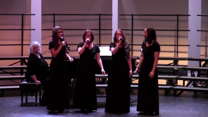 "College Station HS Vocal Ensemble - ""How Can I Keep from Singing?"" 02/09/2018"