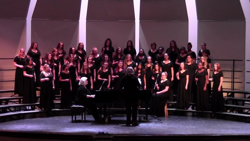 "College Station HS Concert & JV Women's Choir - ""Elijah, Rock"" 02/09/2018"