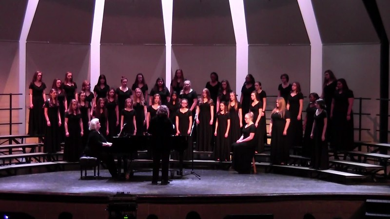 "College Station HS JV & Varsity Women's Choir - ""Poor Wayfaring Stranger"" 02/09/2018"