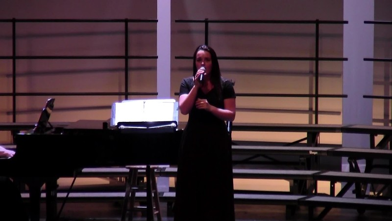"College Station HS Choir Soloist - ""How Great Thou Art"" 02/09/2018"