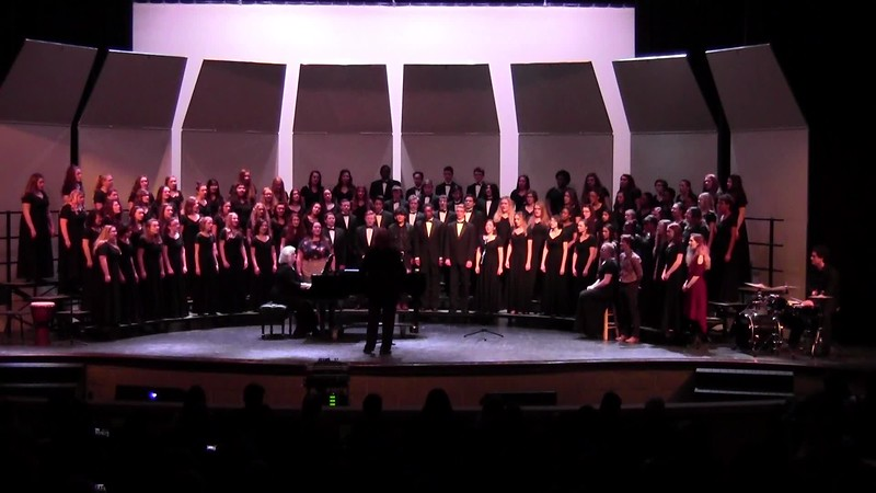 "College Station HS Choirs - ""Total Praise"" 02/09/2018"