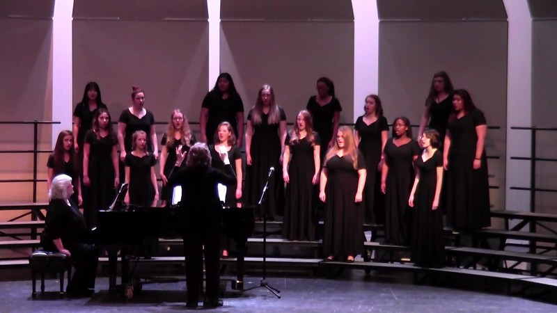 "College Station HS Varsity Women's Choir - ""Simple Gifts"" 02/09/2018"