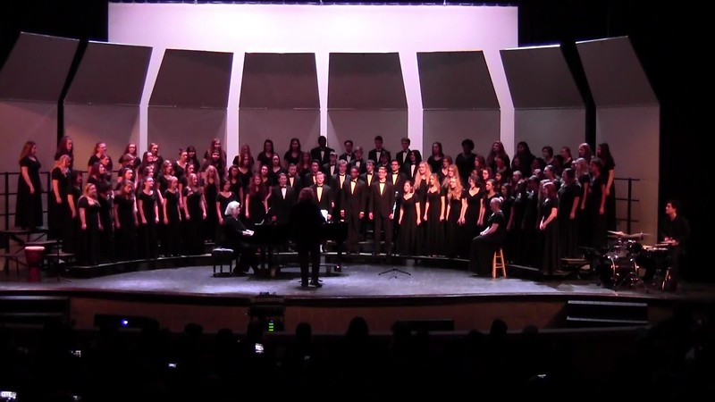 "College Station HS Choirs - ""He Never Failed Me Yet"" 02/09/2018"