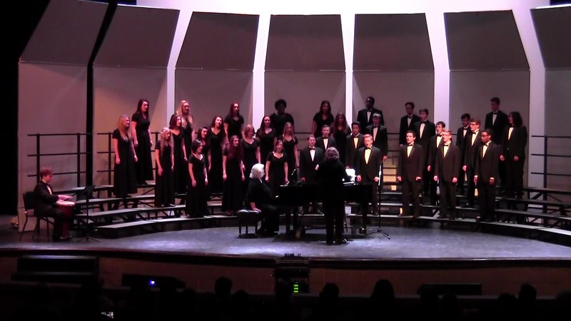 "College Station HS Chorale - ""Run, Mary, Run"" 02/09/2018"