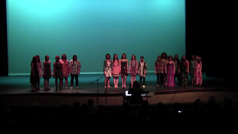 """Over the Rainbow"" - College Station HS Concert Women's Choir 05/19/2017"