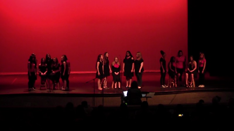 """Safe and Sound"" - College Station HS JV Women's Choir 05/19/2017"
