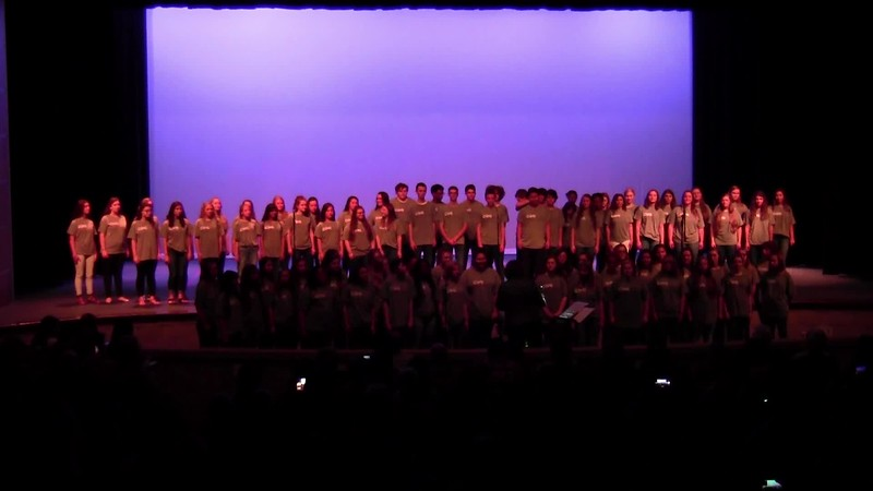"""Bridge Over Troubled Water"" - College Station HS Choirs 05/19/2017"